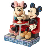 Mickey & Minnie at Soda Shop